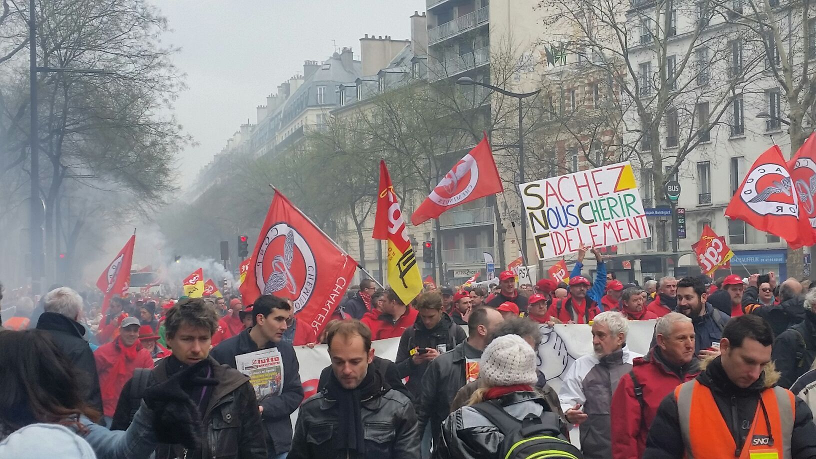 Les plus de 180 manifestations du 22 mars marquent un tournant… vers un possible embrasement social ?